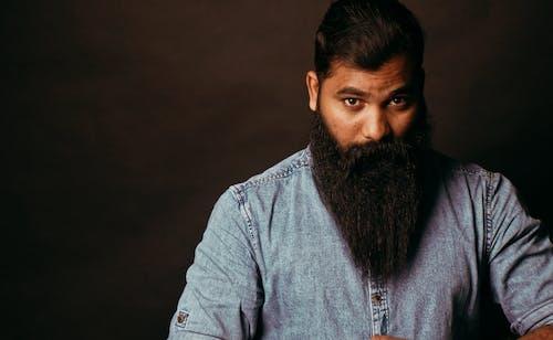 Foto profissional grátis de adulto, apresentação, barba