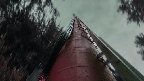 Foto d'estoc gratuïta de borrós, degradat, torre de ràdio