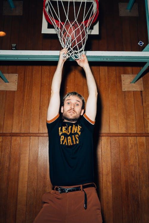 Gratis lagerfoto af atlet, basketball, Basketballring