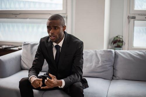 Darmowe zdjęcie z galerii z afroamerykanin, biznesmen, czarnoskóry