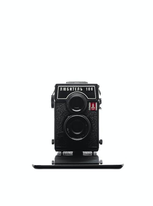 Free stock photo of black camera, camera, film camera