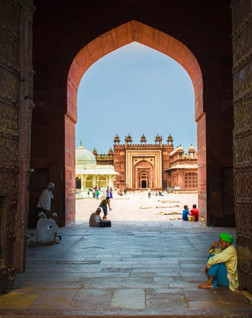Immagine gratuita di #religion #india #buland #gate #historical #colour