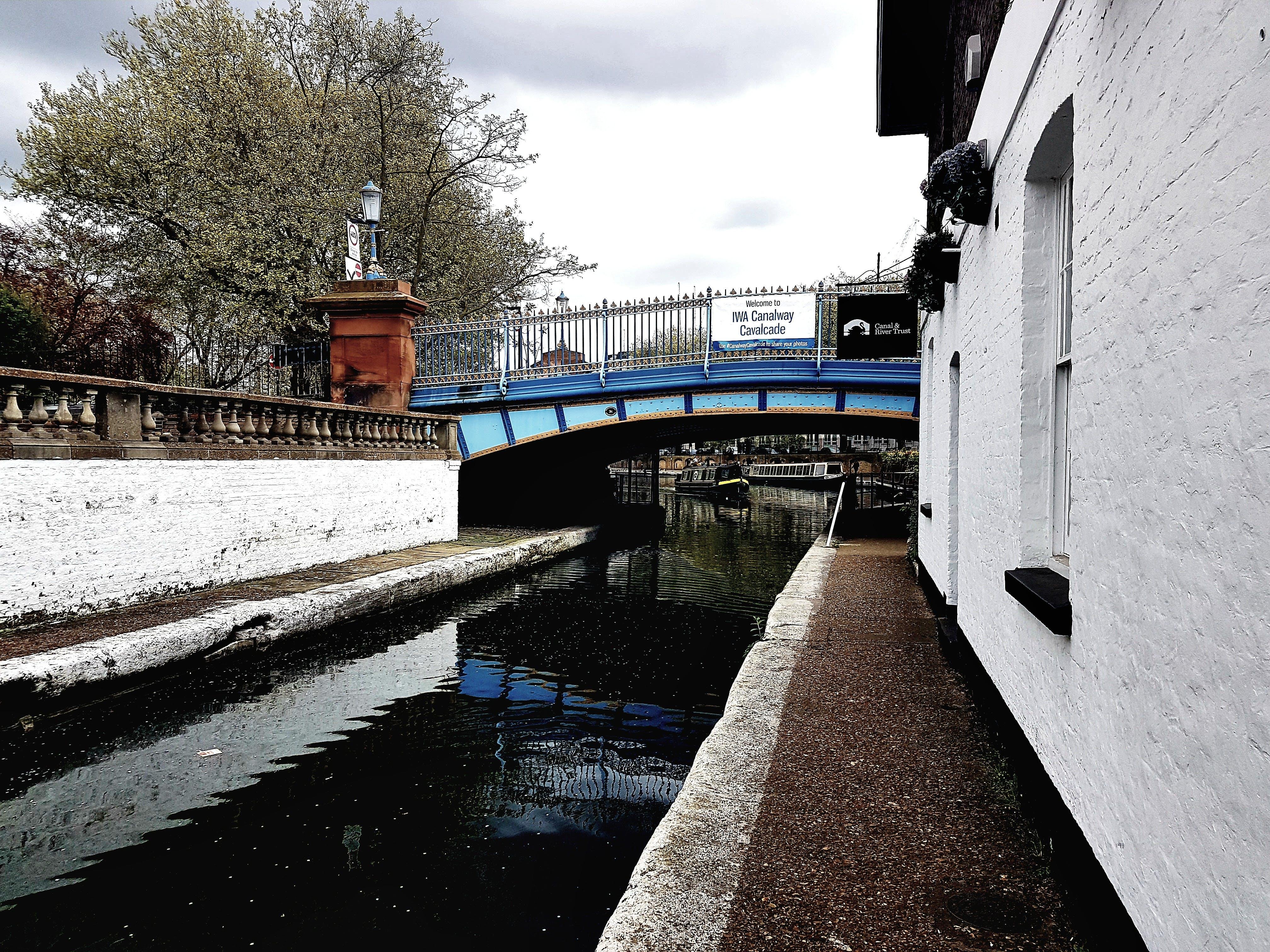 Free stock photo of bridge, canal, london, river