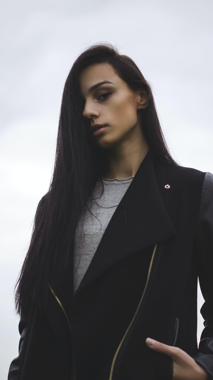 of blur building  fashion  fence  girl  lady  model