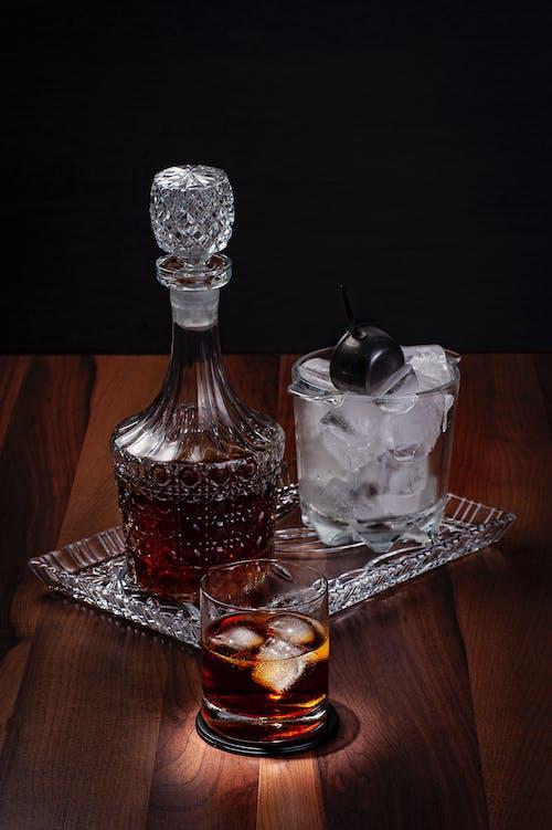 Foto stok gratis alkohol, botol, cair