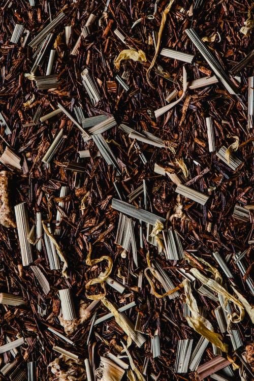 Brown and White Sticks on Ground
