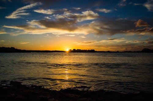 Ingyenes stockfotó közhely, Napkelte, naplemente, óceán témában