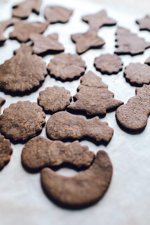 Kostenloses Stock Foto zu braun, cookies, dessert