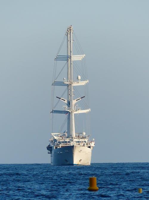 Základová fotografie zdarma na téma loď, moře, obloha, oceán