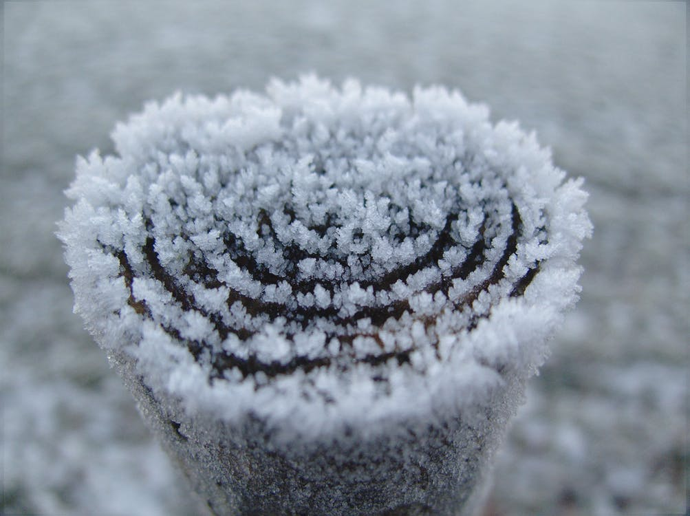 frost, is, kall