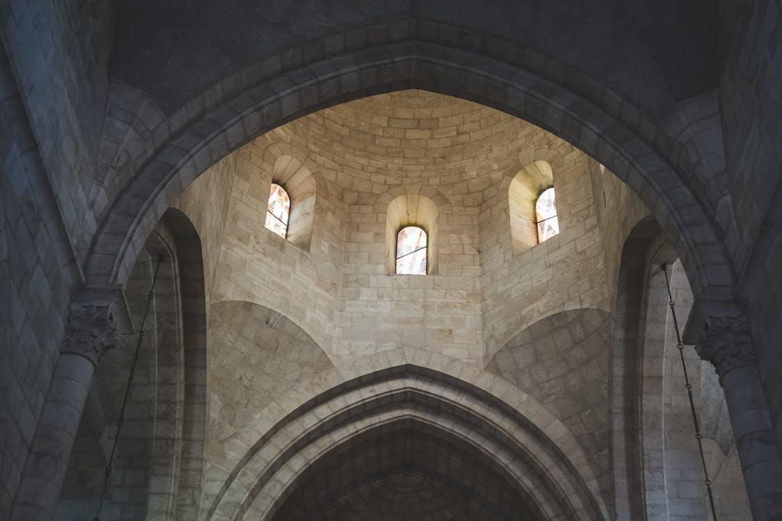 arkitektur, byggnad, katedral