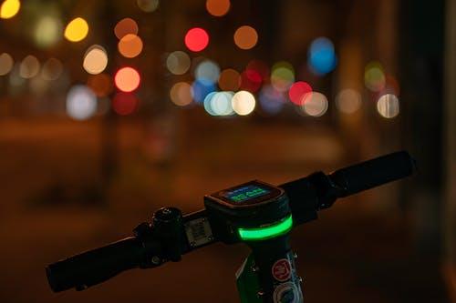 Green and Black Dslr Camera