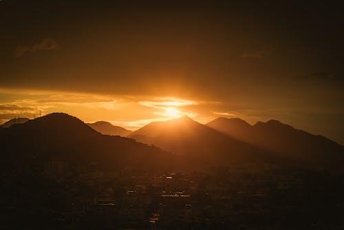 Free stock photo of brasil, evening sun, rio de janeiro