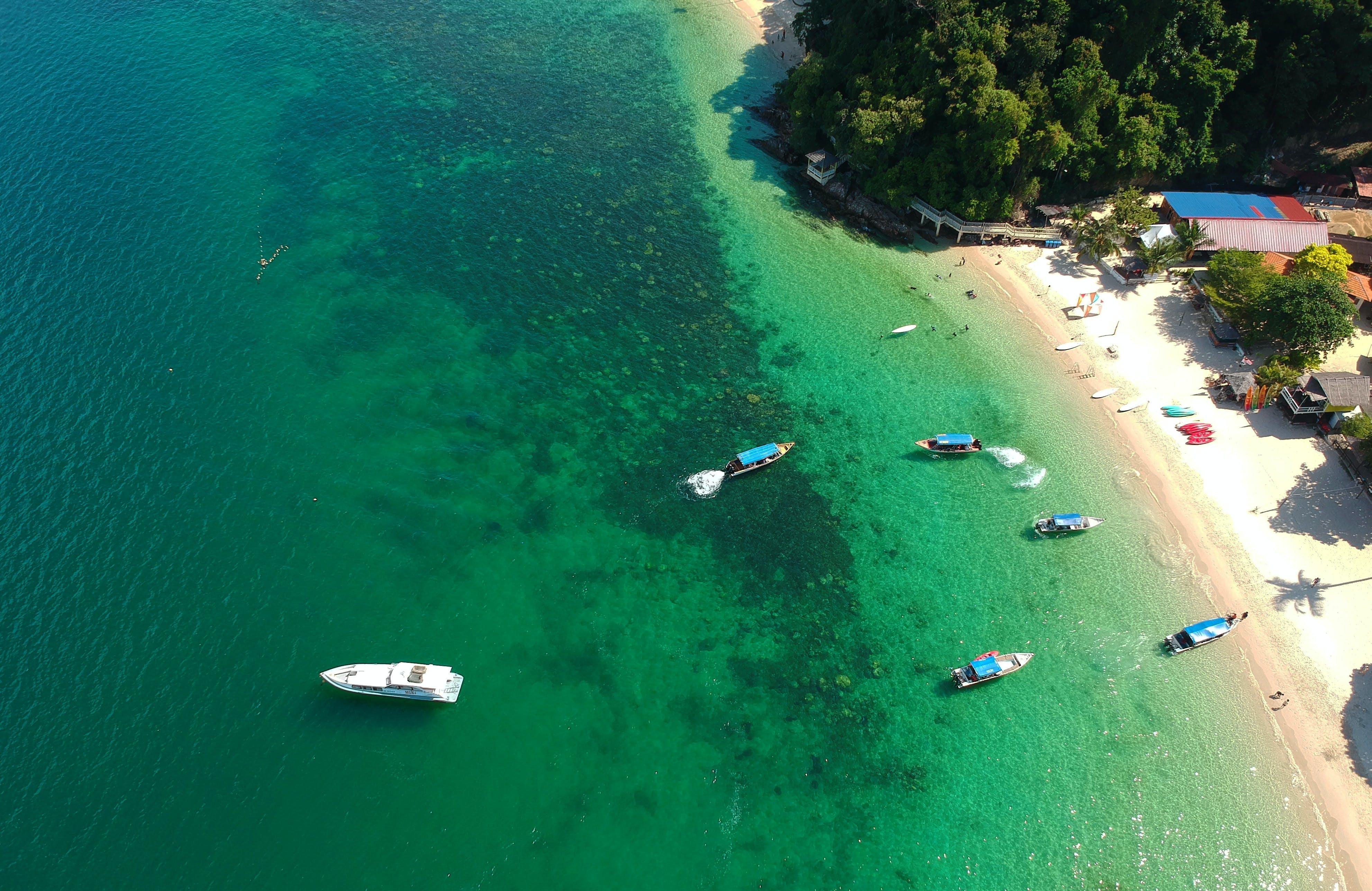 Free stock photo of green, island, islands, seawater
