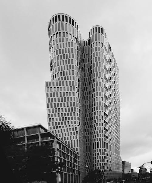 Photos gratuites de architecture, bâtiment, contemporain, contre-plongée