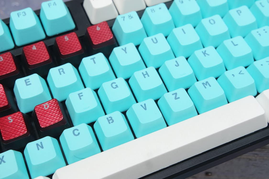 Free stock photo of ducky one, keycaps, Mechanical Keyboards