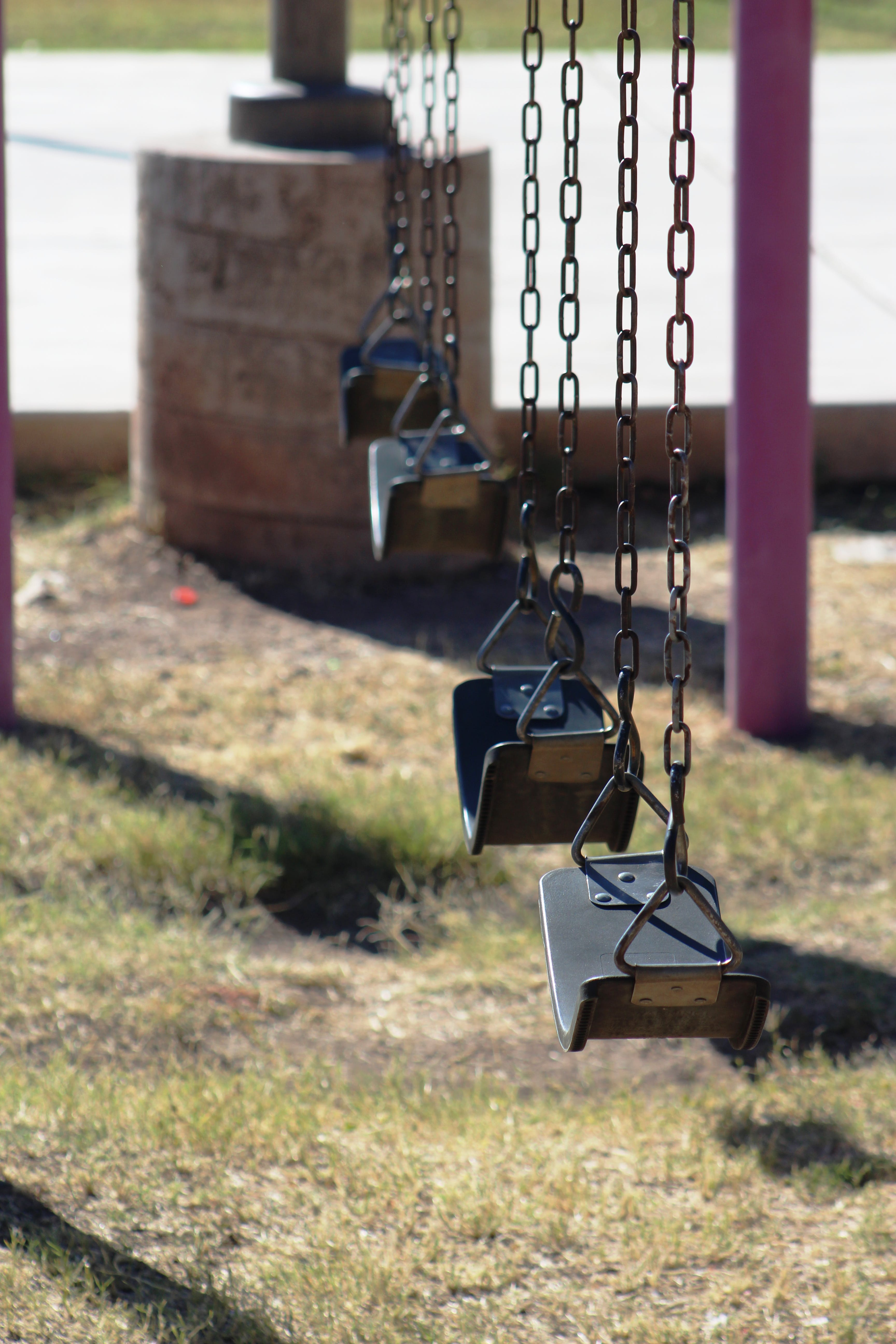 Free stock photo of swings