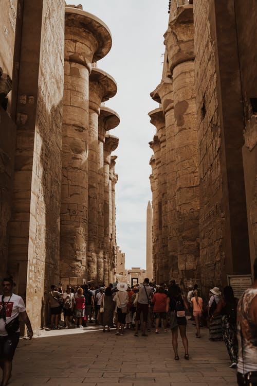 人, 历史建筑, 古老的 的 免费素材图片