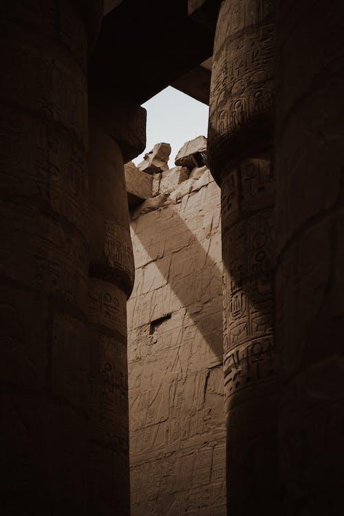 Δωρεάν στοκ φωτογραφιών με Αίγυπτος, Άνθρωποι, αρχαία αρχιτεκτονική
