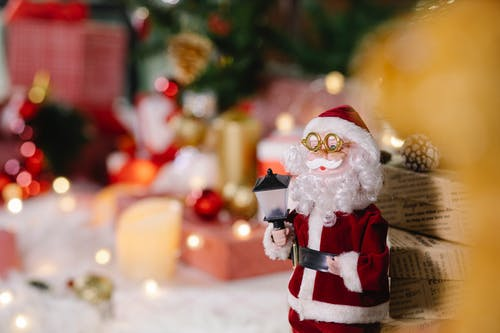Small Christmas toy of Santa CLaus