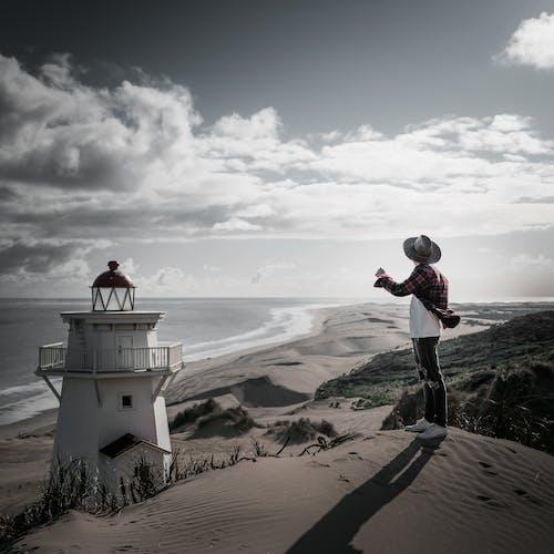 Δωρεάν στοκ φωτογραφιών με ακτή, αμμοθίνες, αμμόλοφοι