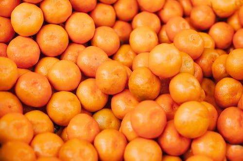 Close-Up Shot of Orange Fruits