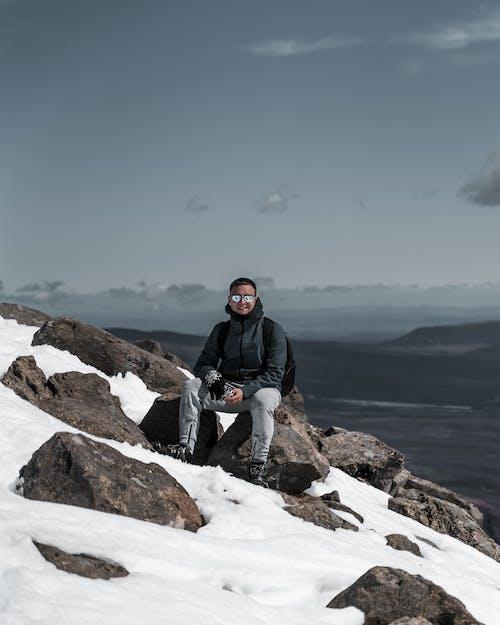 下雪的, 人, 休閒 的 免费素材图片