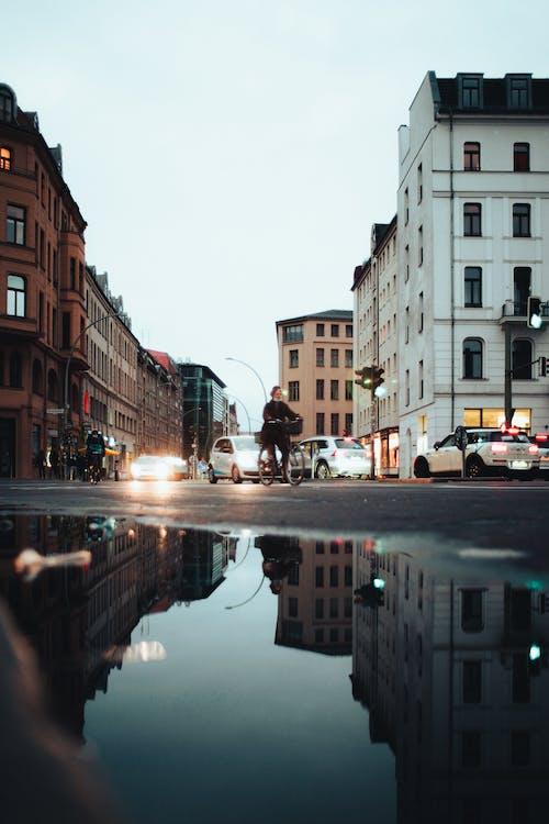 Kostnadsfri bild av arkitektur, bro, flod, gata
