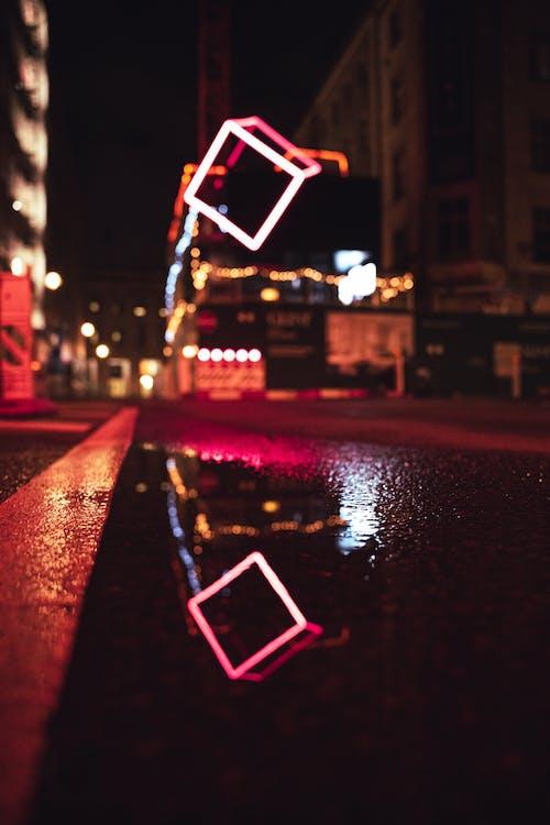 Kostnadsfri bild av ljus, neon, reflektera