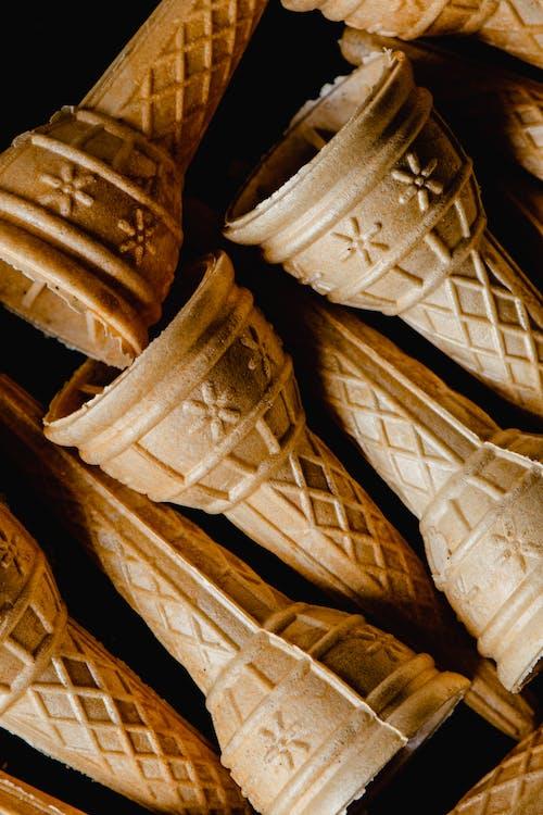 Fotobanka sbezplatnými fotkami na tému čipka, cukrársky výrobok, detailný záber