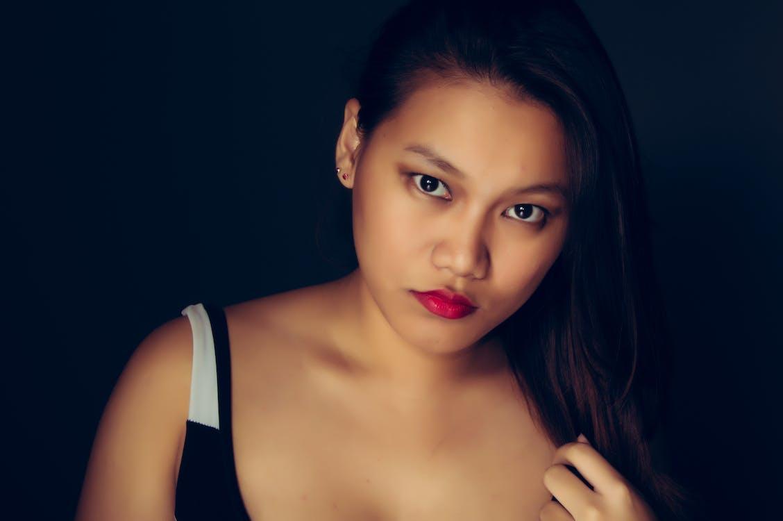 aantrekkelijk mooi, aantrekkingskracht, Aziatisch meisje
