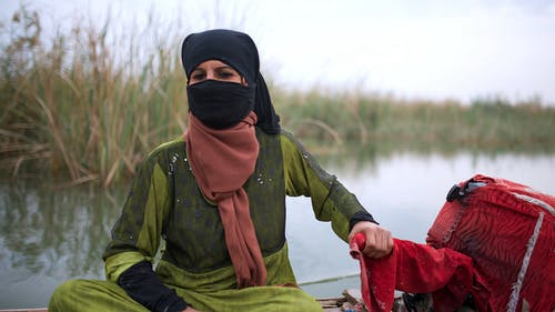 Free stock photo of iraq, Marshes, woman