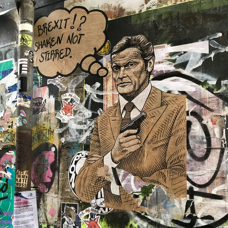 Free stock photo of art, brexit, east london