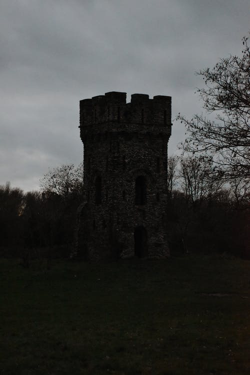 Free stock photo of castle, castle tower, dark