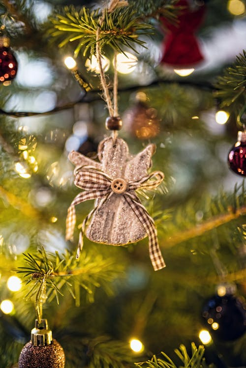 Small angel on Christmas tree