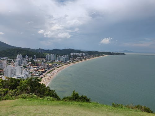 Free stock photo of beach, blue sea, green, sea bay