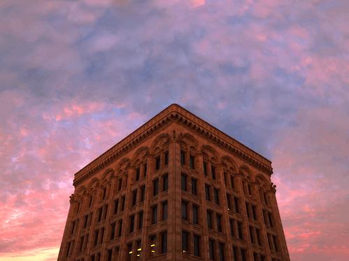 Free stock photo of city, evening sky, evening sun