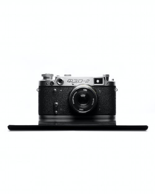 Free stock photo of camera with white background, fed 2, film camera