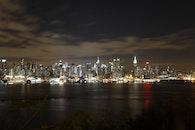 light, city, landmark