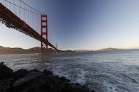 sea, landmark, water