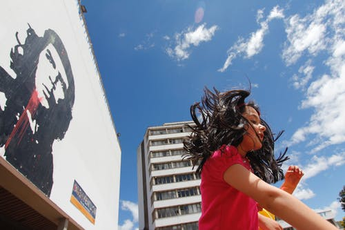 Free stock photo of bogota, colombia, girl, sky