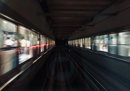 地鐵, 晚間, 杜拜 的 免費圖庫相片