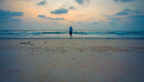 Immagine gratuita di acqua, azzurro, cielo, goa