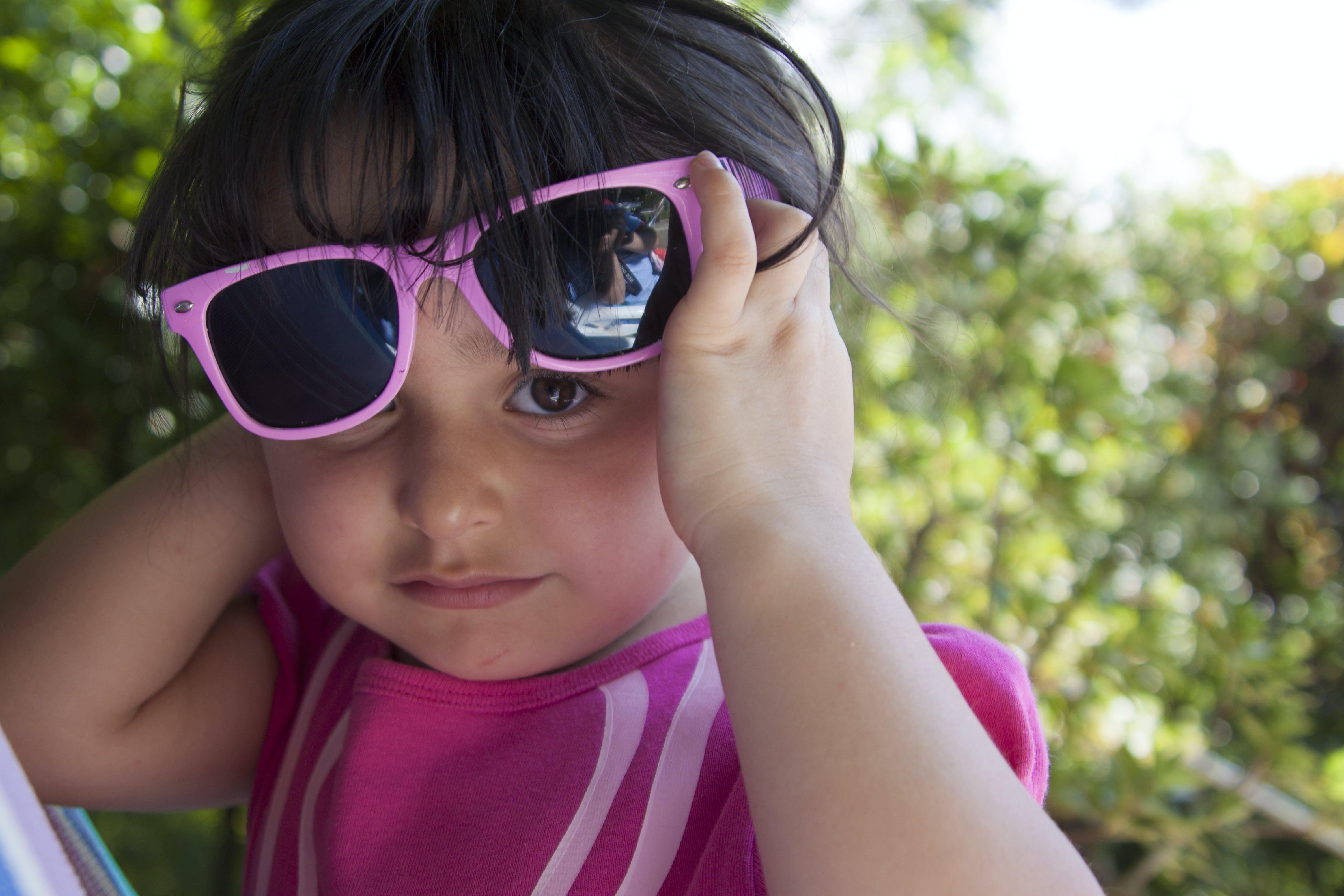 Kostenloses Stock Foto zu augen, brillen, mädchen, sonnenbrille