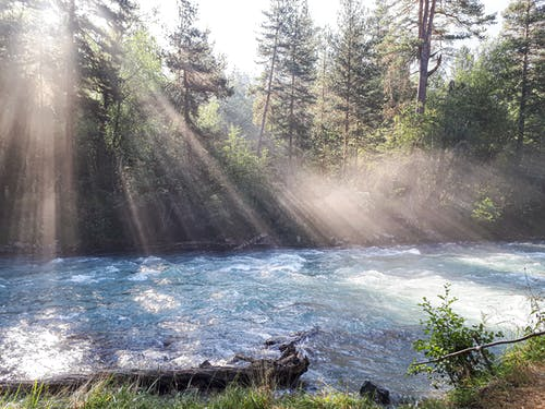 Foto profissional grátis de beleza na natureza, de manhã cedo, enseada