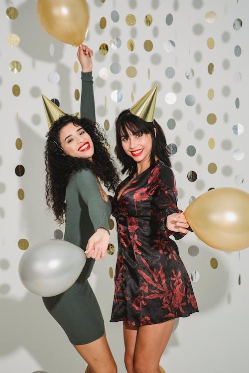 Imagine de stoc gratuită din aduna, aniversare, auriu, balon