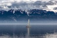 sea, landscape, water