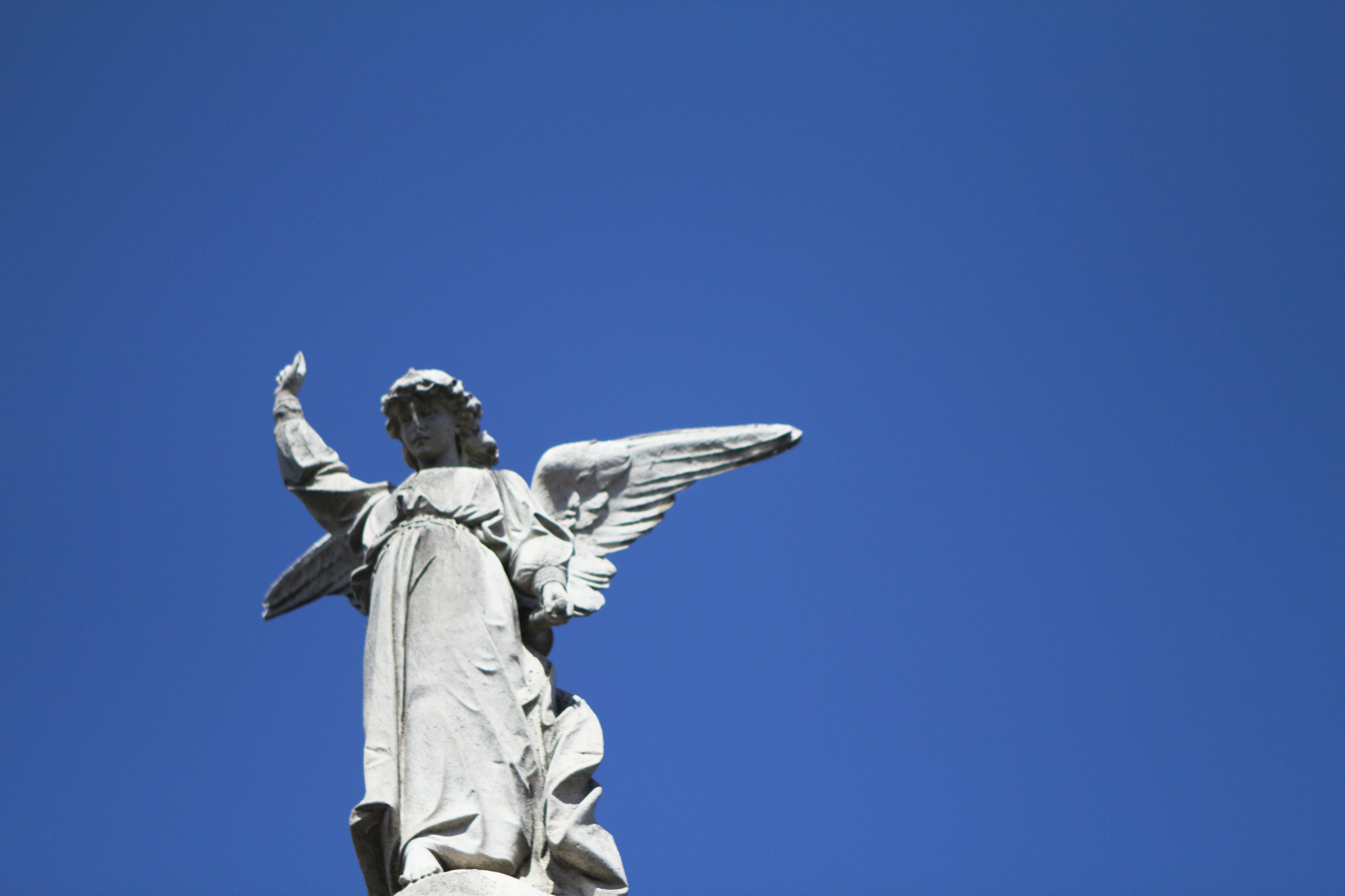 Free stock photo of sky, angel, cemetery, Buenos Aires