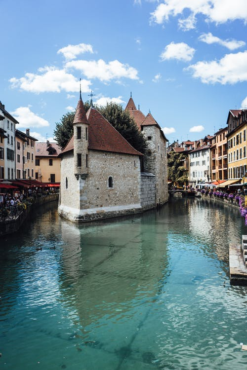 Free stock photo of annecy, canal, city