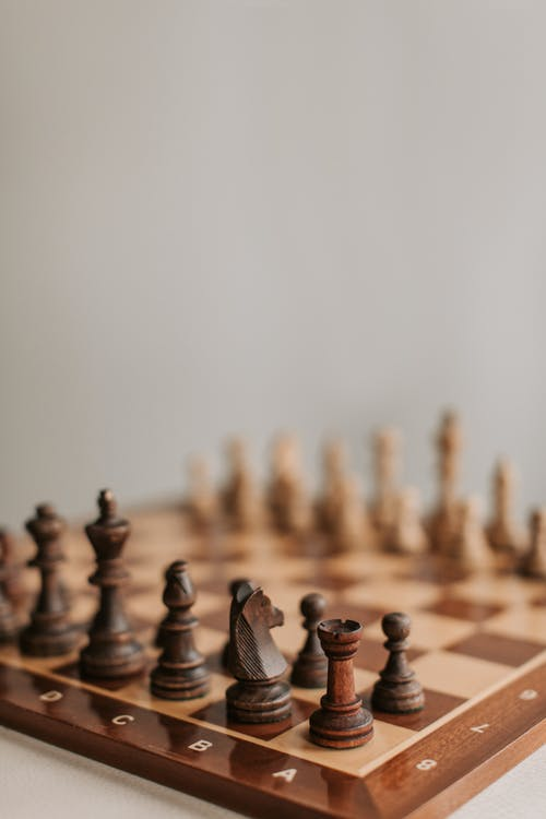Foto stok gratis bidak, bidak catur, buram